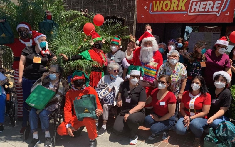 Norwalk Community Hospital Sends Santa and Elves to Bring Joy and Gifts to Seniors in July